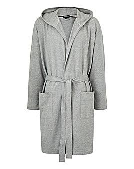 Capsule Grey Hooded Dressing Gown