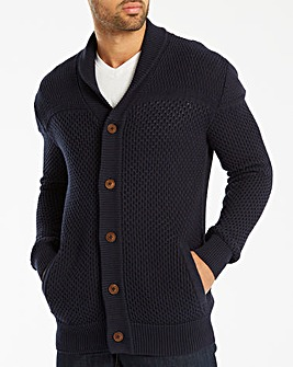 Jacamo Shawl Neck Cardigan Regular