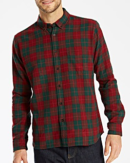Jacamo L/S Flannel Shirt Regular