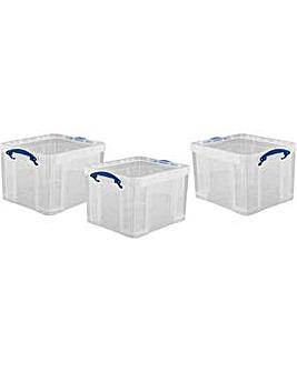 3 35L Really Useful Plastic Storage Box