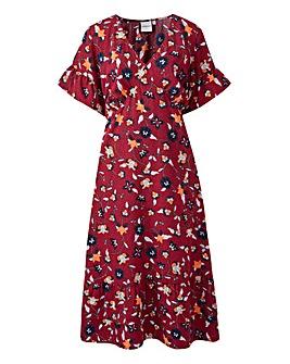 Junarose Floral Midi Dress