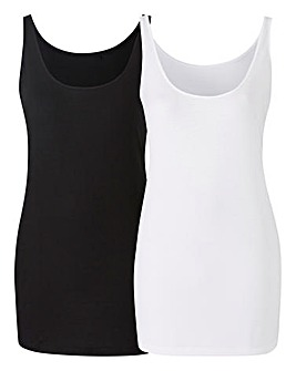Pack of 2 Longline Vests