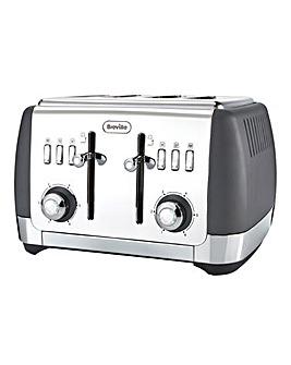 Breville Strata 4-Slice Grey Toaster