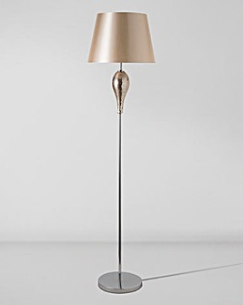 Rose Gold Mosaic Floor Lamp