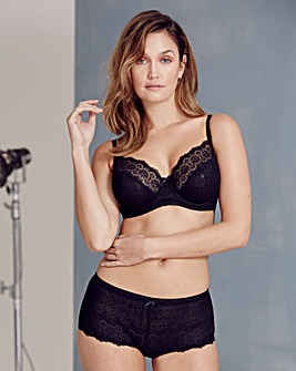 2 Pack Stretch Lace Black/White Bras