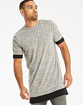 Label J Longline Space Dye Tee R