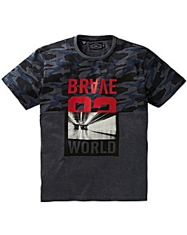 Label J Brave World Splice T-Shirt Long