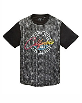 Label J Space Dye Print Tee Regular