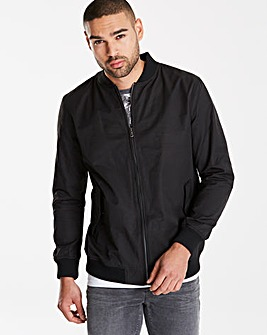 Black Label Black Smart Bomber Jacket L