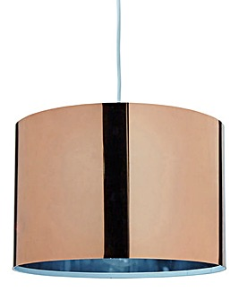 Brooklyn Copper Shiny Pendant Shade
