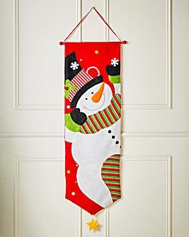 Snowman Wall Hanger