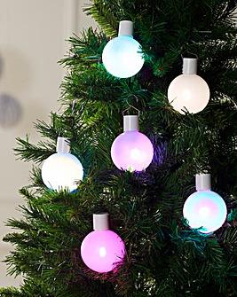 Set of 6 Christmas Balls