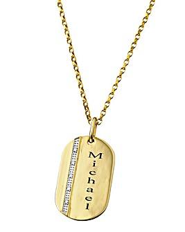 Precious Sentiments 9 Carat Gold Pendant