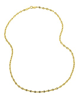 9 Carat Gold 9 inch Fancy Bracelet