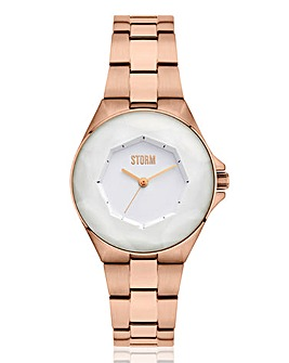 Storm Ladies Crystana White Dial Watch