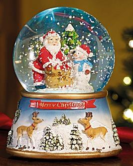 Christmas Scene Snowglobe