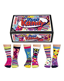 Ladies Foot Kandy Socks Selection