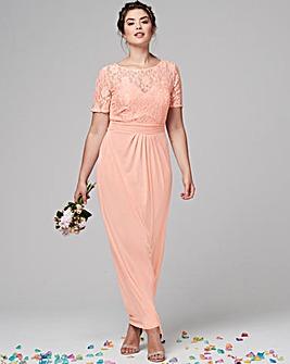 ITY Lace Bodice Maxi Dress