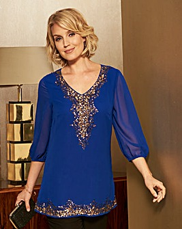 Nightingales Embellished Tunic