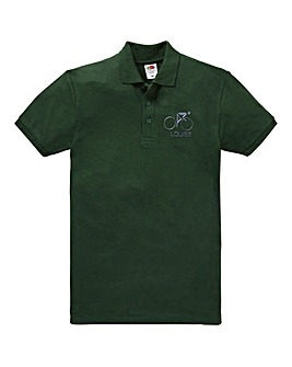 Personalised Cycling Polo Shirt