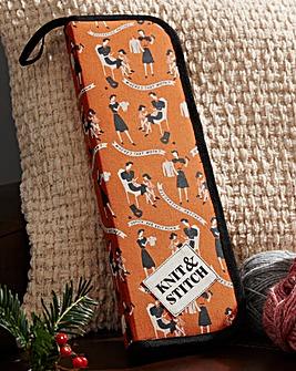 Knit & Stitch Needle Case