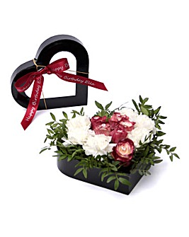 January Garnet Birthstone Bouquet