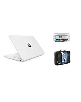 HP 14 Intel 4GB 32GB MS Office Print Set
