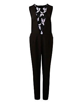 Lovedrobe Jumpsuit with Lace Insert
