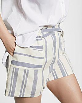 Violeta By Mango Stripe Shorts