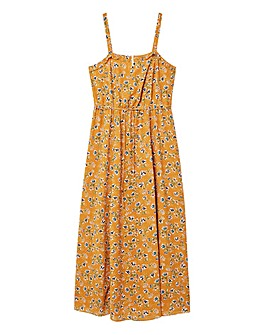 Violeta by Mango Floral Maxi Dress