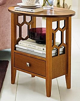 Fretwork Occasional Table