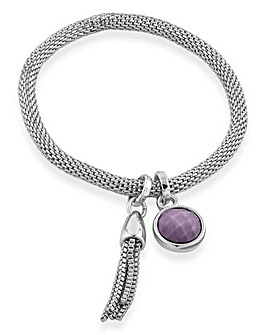 Buckley London Carnaby Bracelet Silver