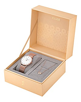 CLUSE Ladies Watch and Bracelet Gift Set