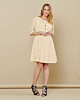Simply Be Lace Skater Dress