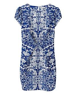 Darling China Print Dress