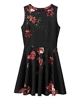 AX Paris Floral Print Skater Dress