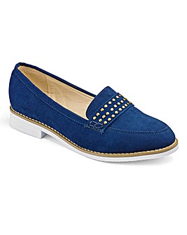 Sole Diva Studded Loafers E Fit