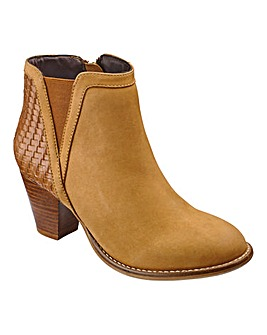 Sole Diva Woven Boots EEE Fit