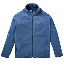Capsule Storm Blue Zip Through Fleece