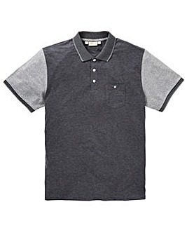 WILLIAMS & BROWN Colour Block Polo