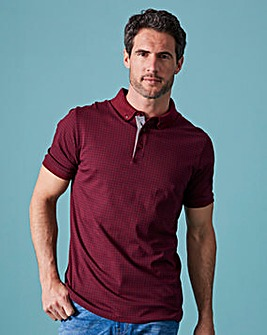 WILLIAMS & BROWN Printed Polo