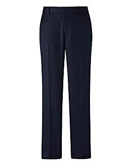 W&B London Slim Fit Textured Trousers