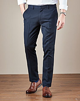 W&B London Reg Fit Textured Trousers