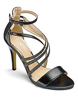 AX Paris Strappy Sandals D Fit