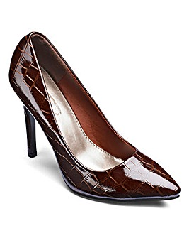 Sole Diva Pointy Court Shoes D Fit