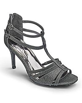 Sole Diva Glitter Sandals E Fit