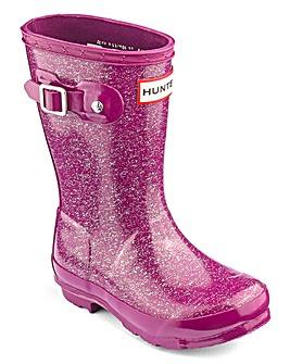 Hunter Original Glitter Finish Boots