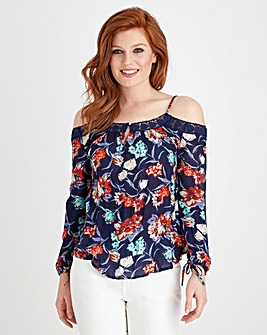 Joe Browns Floral Cold Shoulder Blouse