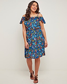 Joe Browns Sassy Ruffle Dress