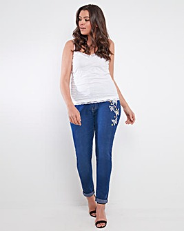 Joe Browns Embroidered Boyfriend Jeans